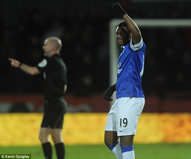 Departure: Magaye Gueye has left Goodison Park to join Ian Holloway's Millwall