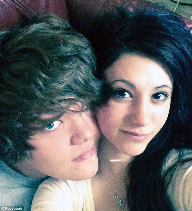 Heartbroken: Jimmy Campbell, 15, was left confused when Abigail, his first love, disappeared while walking home from school on October 9 last year ¿ just days before her 15th birthday