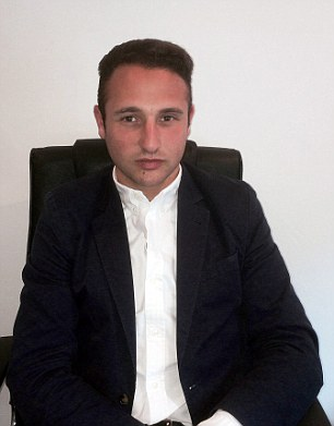Jamie Lewis: The 23 year-old entrepreneur invested in his first buy-to-let property in Salford earlier in the year