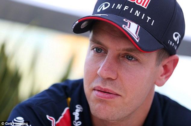 Not interested: Hamilton didn't entertain speculation that Mercedes could sign Sebastian Vettel
