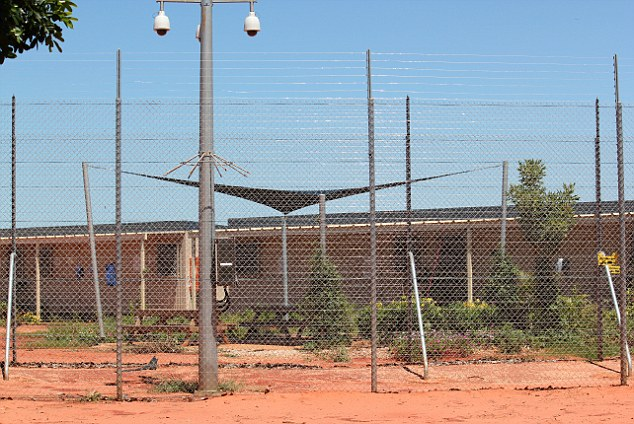 It is believed the asylum seekers will be taken to Curtin Detention Centre in Western Australia