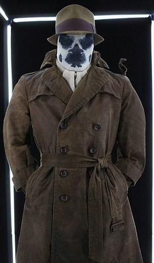 Costumes: Items are displayed at Warner Bros. Interactive Entertainments Cape/Cowl/Create event, a celebration of the iconic characters 75th anniversary and the upcoming release of Batman: Arkham Knight, at Hard Rock Hotel San Diego