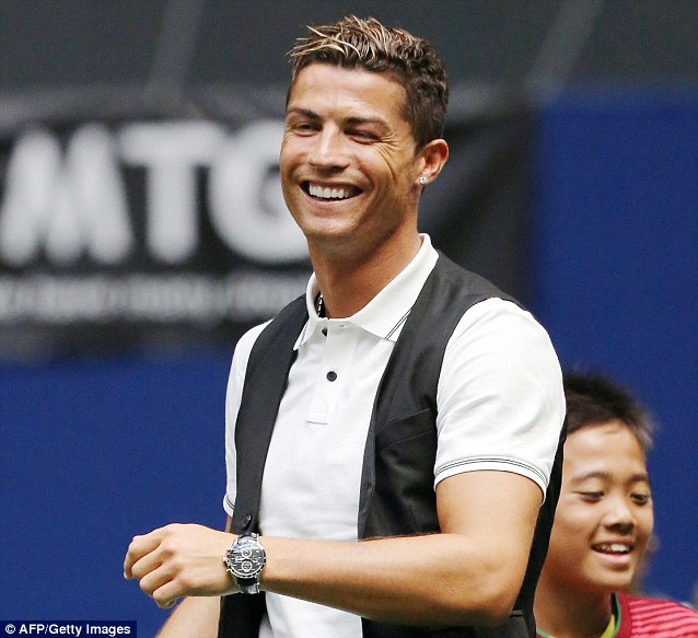 Capitalising: Cristiano Ronaldo is looking to market himself more in America