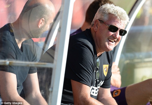 Centurion: Hull's Europa League match against Trencin will be Steve Bruce's 100th in charge of the club