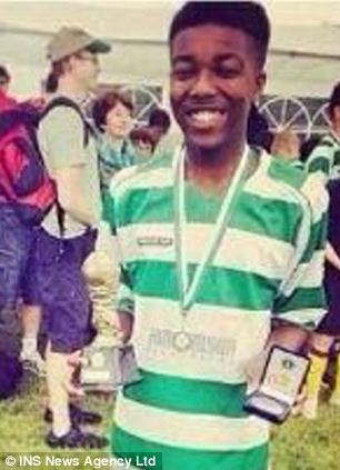 Kyrece Francis was remembered by friends as a promising footballer and a 'genuine' and 'great' guy