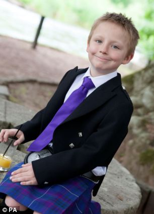 Arran Cooper, 10, from Rutherglen in South Lanarkshire, died after he fell into the River Orchy, in the Caledonian forest reserve in Argyll and Bute