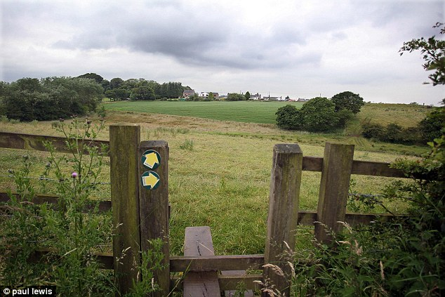 The proposed site at Cowling Road on the edge of Chorley, Lancashire is currently grazed by cattle