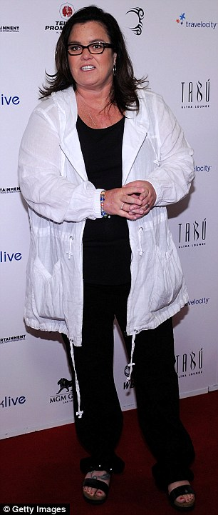Also on Jackie's list: The KIIS FM radio presenter also mentioned Roseanne Barr and Rosie O'Donnell on her list of women she thought she 'looked better' than