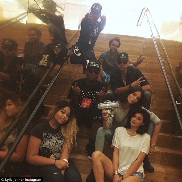 Weekend: The girls were relaxing after being in Dallas promoting their PacSun summer clothing line on Thursday