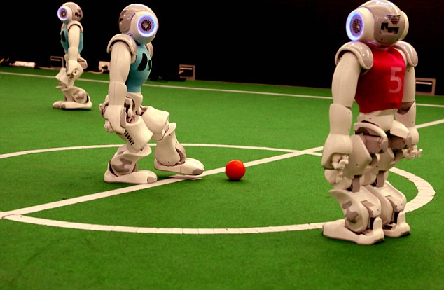 The UNSW robots took out the RoboCup for the first time since 2003