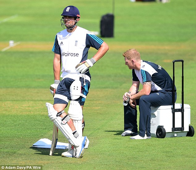 Last chance saloon: Cook knows his side can't afford to lose the third Test in Southampton