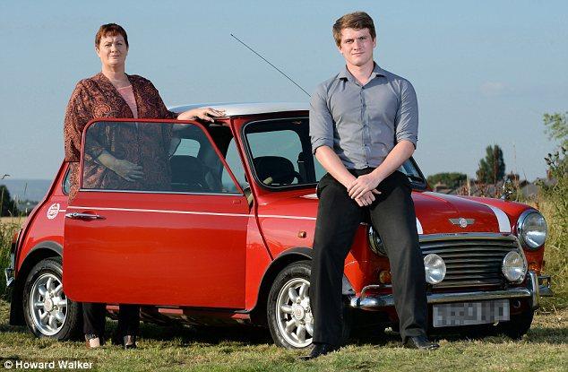 Little car, big bill: Jannette Hibbert and son Oliver