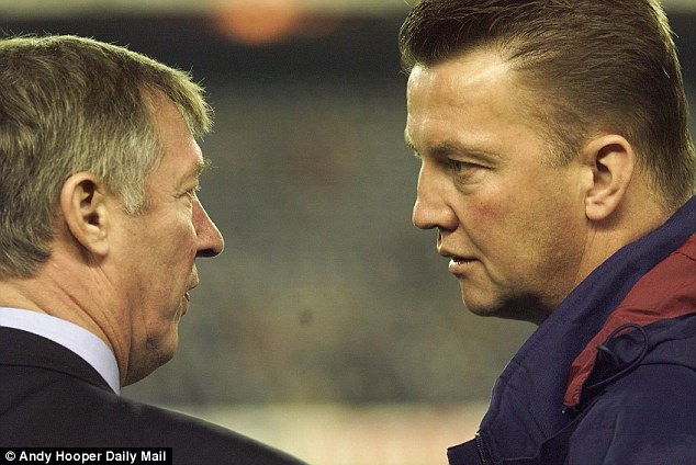 New beginnings: Van Gaal has big shoes to fill in the Old Trafford hot seat
