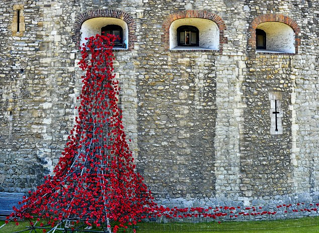 The art display featuring more than 800,000 ceramic poppies will continue to grow until Armistice Day