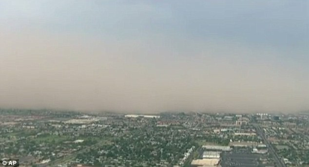 Coverage: A massive dust storm covered Phoenix, Arizona on Friday, but meteorologists say it's common for this time of year