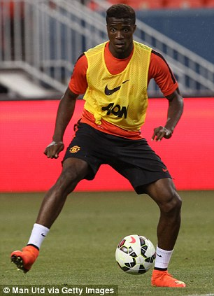 Opportunity: Van Gaal says Zaha will feature in the striker role on this tour
