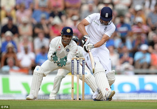 Fell: He eventually went just five short of his 100