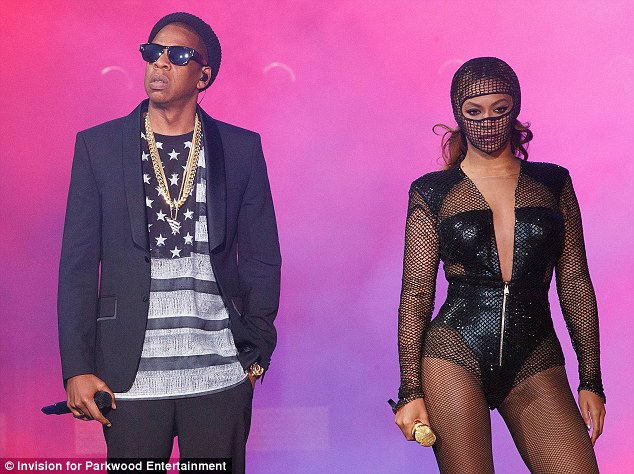 Trouble and strife: The Carters are rumoured to be going through marital difficulties