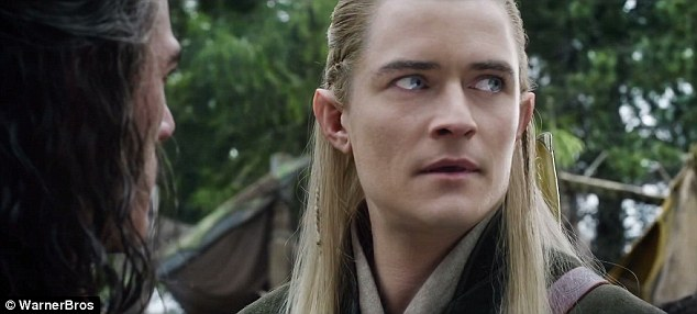 Back: Legolas gets involved in the battle of the five armies