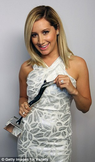 Actress Ashley Tisdale attends the 2014 Young Hollywood Awards brought to you by Samsung Galaxy at The Wiltern on July 27