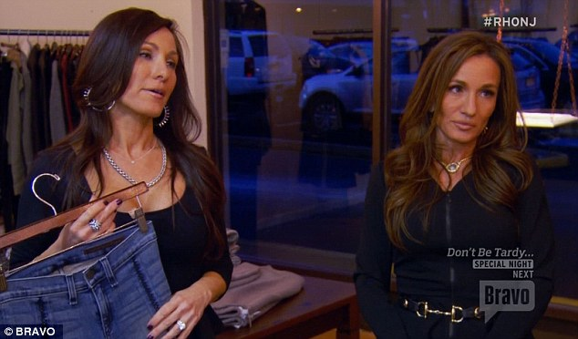 Gossip confrontation: Nicole and twin sister Teresa decided to confront Amber about her gossiping at another time