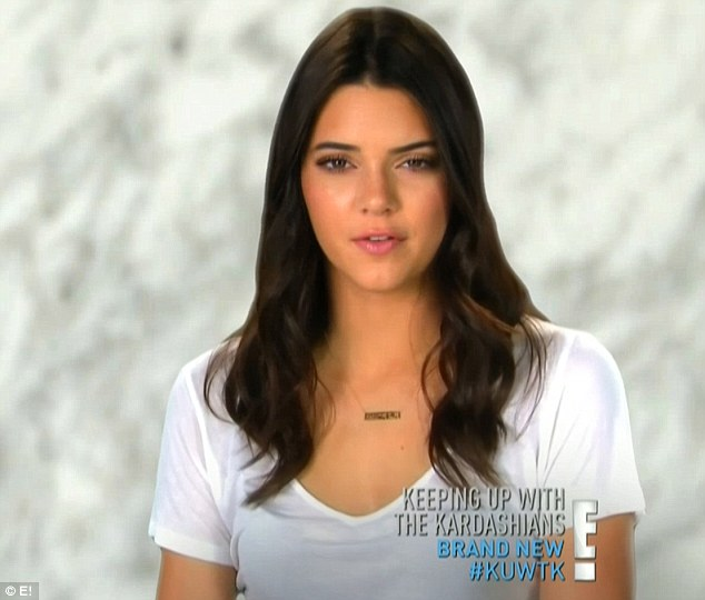 Alone time: Kendall explained that she and little sister Kylie needed some alone time