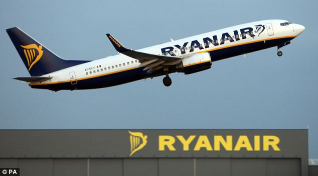 Up, up and away: Dublin-based budget airline Ryanair raised it's full year profit expectations today after fuller flights and shaved costs had seen first quarter earnings more than double