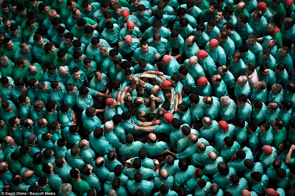 Tricky: The Human Tower Competition - known in Spain as the 'Concurs de Castells' - takes place in the city of Tarragona, 60 miles south-west of Barcelona