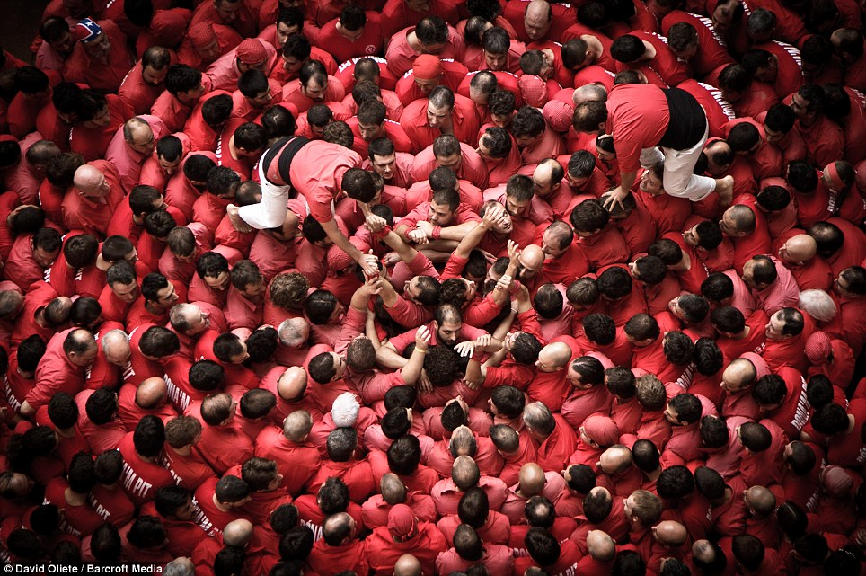 Clambering: The next part of the biennial festival, officially called the XXIV Concurs de Castells de Tarragona, will take place in the Spanish city this October