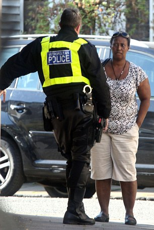 The woman was questioned by police