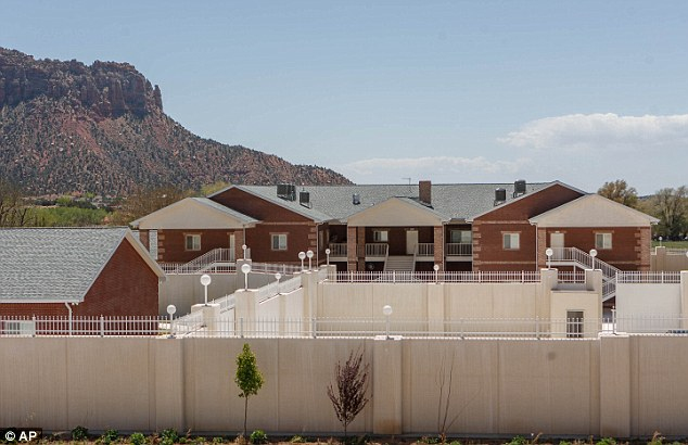 Bed and breakfast: Fittingly for a property built for a man who once made the FBI's list of 10 most wanted fugitives, the guesthouse in Hildale, Utah (pictured) has been renamed Most Wanted Suites