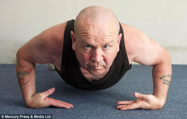 Former paratrooper Paddy Doyle, 49, from Solihull, West Midlands, has been entered into the Guinness World Records 63 times for a series of endurance challenges