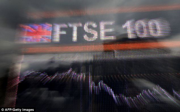 Bounce back: After a mid morning wobble,. the Footsie pushed higher once more as corporate news provided a spur to gains