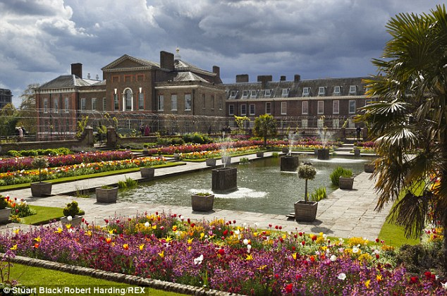Kensington Palace and Gardens in London is included on the list although it's not exactly a 'hidden' gem...