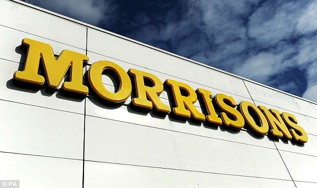Struggling: Morrisons supermarket has seen sales slide amid strong competition from discounters
