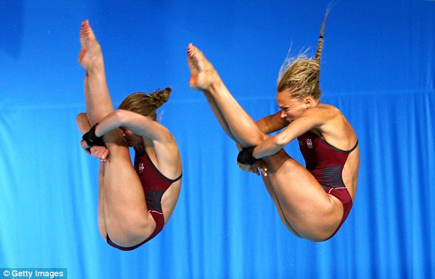 Still winners: Barrow and Couch were great on the day but lost out on their fifth of five dives