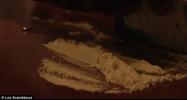 Dealing: Cocaine is prevalent in Skid Row and many dealers come from miles around to exploit the weak on the streets