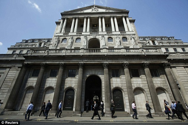 Banks' rules: The new Bank of England plans follow a consultation into financial institutions' responsibilities and accountability launched earlier this year