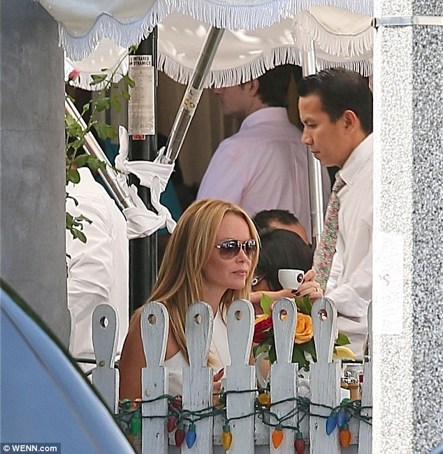 Popular: The Ivy has long been a favourite of Hollywood celebrities