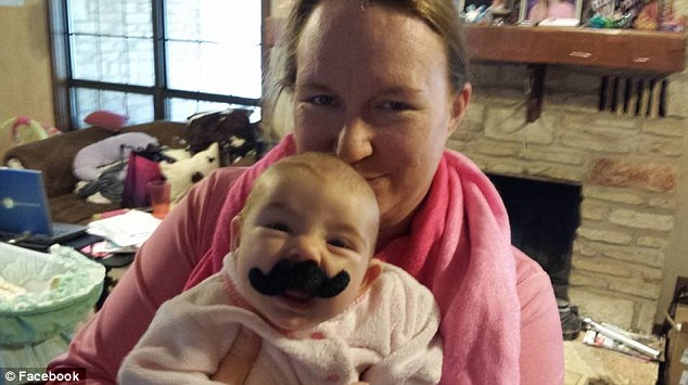 Elated: Tessa Snodgrass, pictured with her daughter Savannah, said she was relieved to hear her baby's surgery was a success