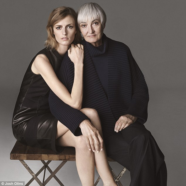Role model: Jacquetta Wheeler describes her mother, Tessa Codrington, as 'determined and bossy'