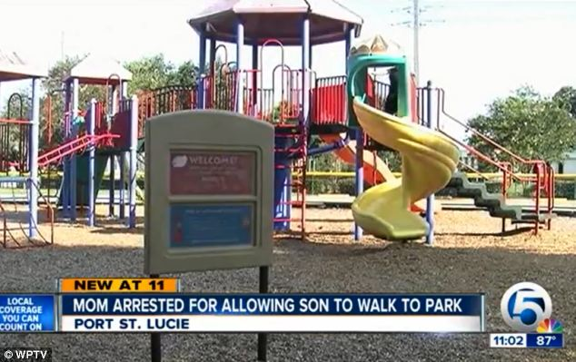 Scene: She said she let her son go to the park once or twice a week and always sent him with a cell phone