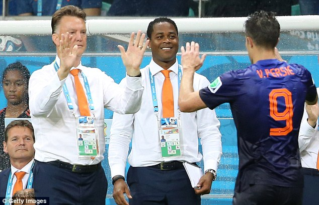 Favourite: Louis van Gaal could give compatriot Robin van Persie the captaincy