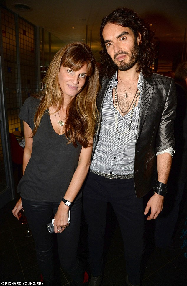 Lovebirds: Jemima and Russell  have been dating since last November