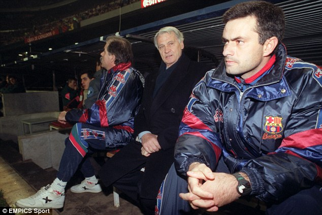 Man in charge: Robson was manager of Barca in the 90s and worked with Jose Mourinho