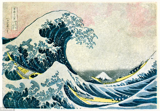 Hokusai's 'The Great Wave' is considered one of the best-known pieces of Japanese art