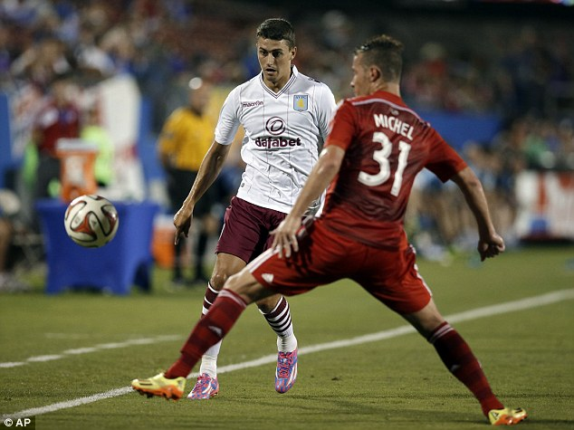 On the move? Middlesbrough want to sign Matthew Lowton to boost their promotion push