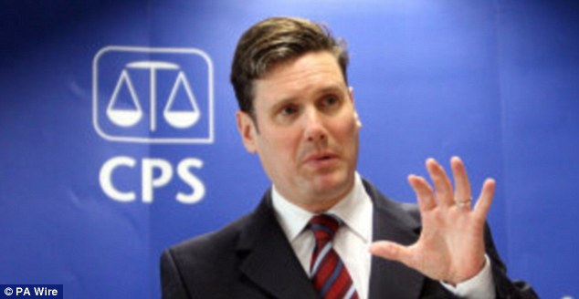 Sir Keir Starmer, ex-Director of Public Prosecutions, has spoken of his desire to stand as a Labour candidate