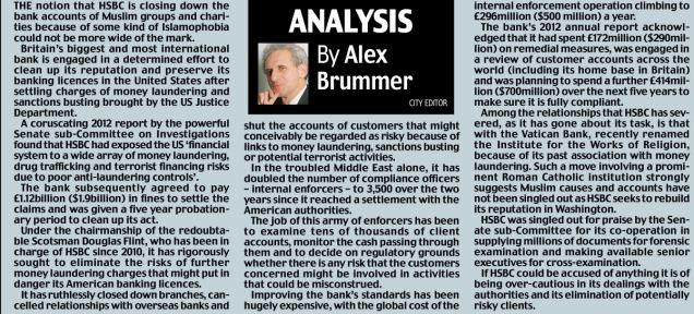 Alex Brummer's analysis