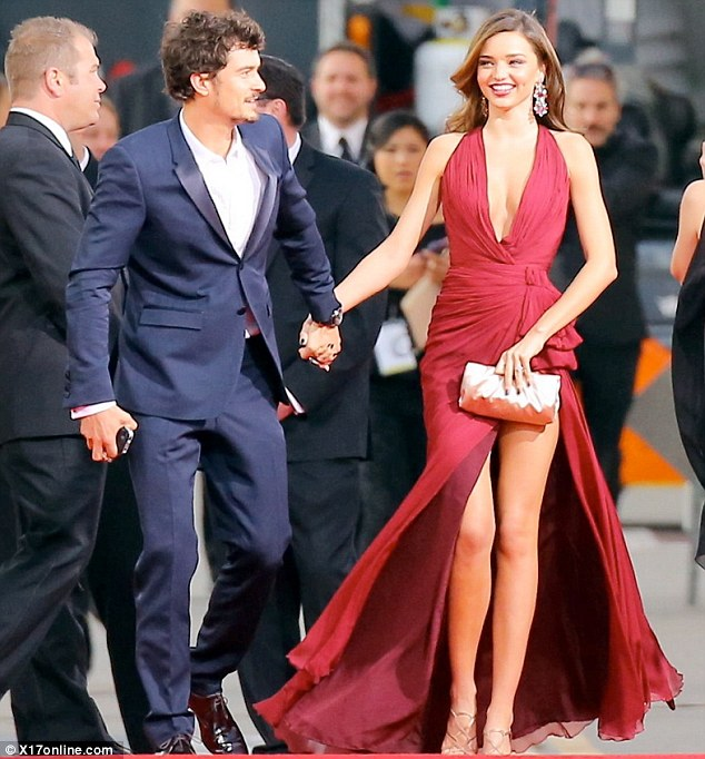 They once had it all: Mr and Mrs Bloom in January 2013 at the Golden Globe Awards in LA
